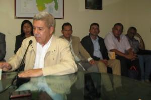 José Luis Machín Machín. Alcalde del municipio Barinas. Estado Barinas. AMG2016